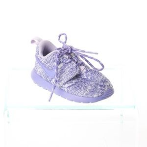 Nike Baby Girls Purple Lace Up Sneakers Size 6C